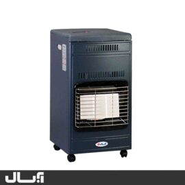 بخاری گازی آبسال مدل 440 - سرمه ای