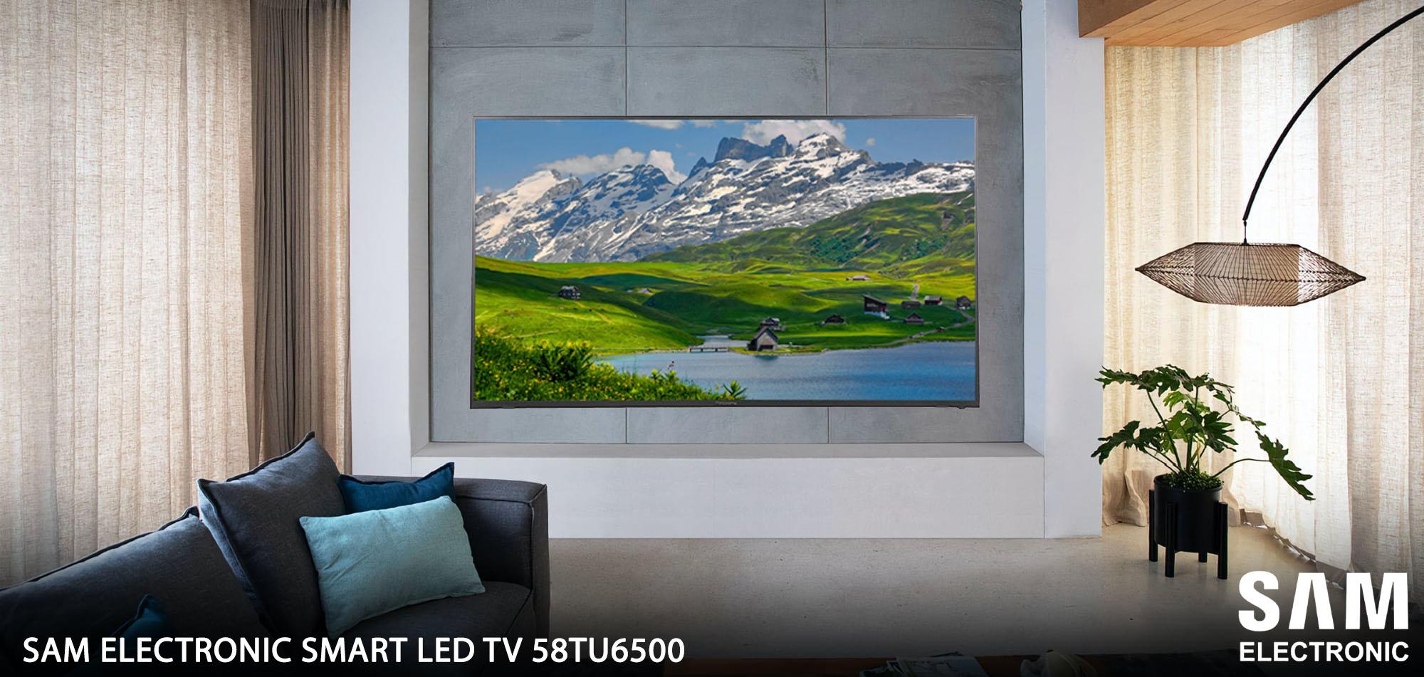 مشخصات تلویزیون سام الکترونیک مدل 58TU6500