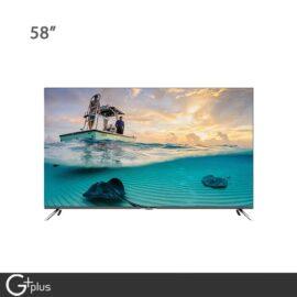 تلویزیون ال ای دی هوشمند جی پلاس 58 اینچ مدل GTV-58LU722S
