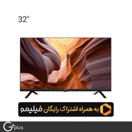 تلویزیون ال ای دی هوشمند جی پلاس 32 اینچ مدل GTV-32LD612N