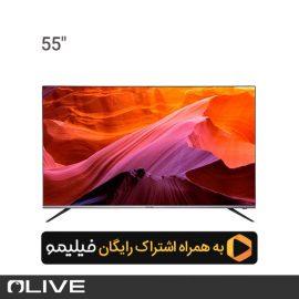 تلویزیون هوشمند الیو مدل 55UC8450