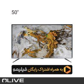 تلویزیون هوشمند الیو مدل 50UD8430