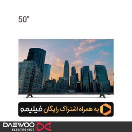 تلویزیون ال ای دی هوشمند دوو 50 اینچ مدل DSL-50K5700U