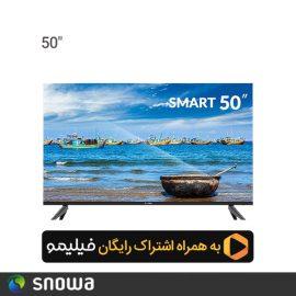 تلویزیون ال ای دی هوشمند اسنوا 50 اینچ مدل SSD-50SA620 U