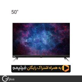 تلویزیون ال ای دی هوشمند جی پلاس 50 اینچ مدل GTV-50LU722S
