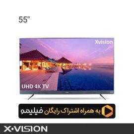 تلویزیون ایکس ویژن مدل 55XTU745