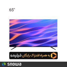 تلویزیون ال ای دی هوشمند اسنوا 65 اینچ مدل SSD-65SA620U