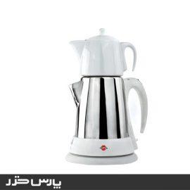 چای ساز پارس خزر مدل chaeenoosh سفید